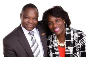 Pastor Felix en Jearine Asare